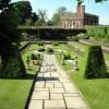 Un detalle de los jardines del palacio de Hampton Court
