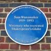 La reconstrucción del teatro actual se debe al actor y director estadounidense Sam Wanamaker @ Neil Willsey
