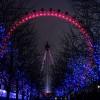 El London Eye en Navidad