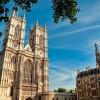 Vista exterior de la abadía de Westminster